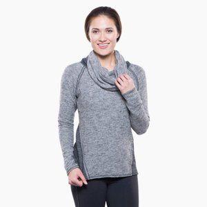 Kuhl Womens Cowl Neck Blue Sweater Medium M